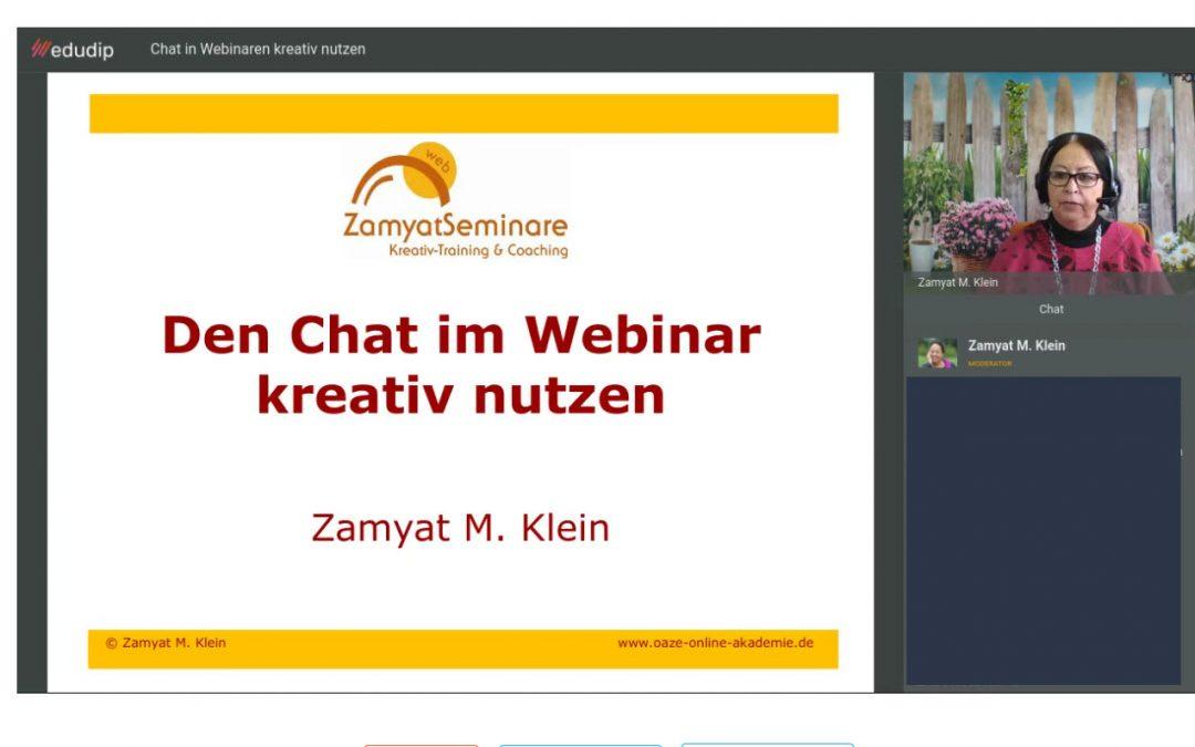 Webinare und Live-Online-Seminare