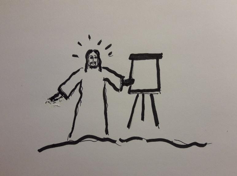 Jesus und sein Newsletter