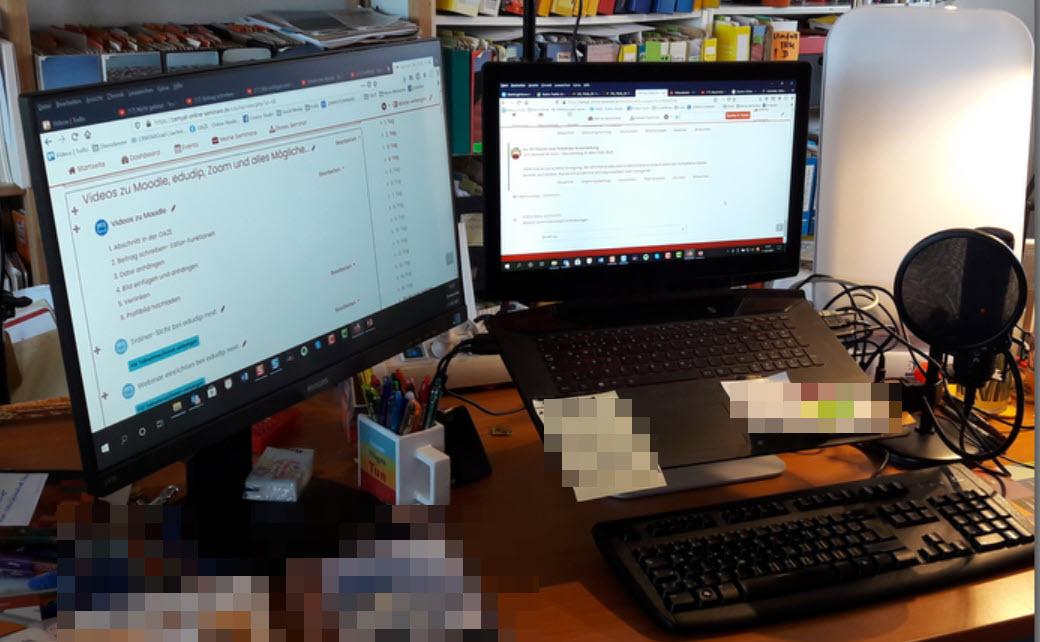 Warum 2 Monitore die Arbeit enorm erleichtern