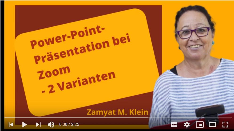 Videos für Online-Seminare