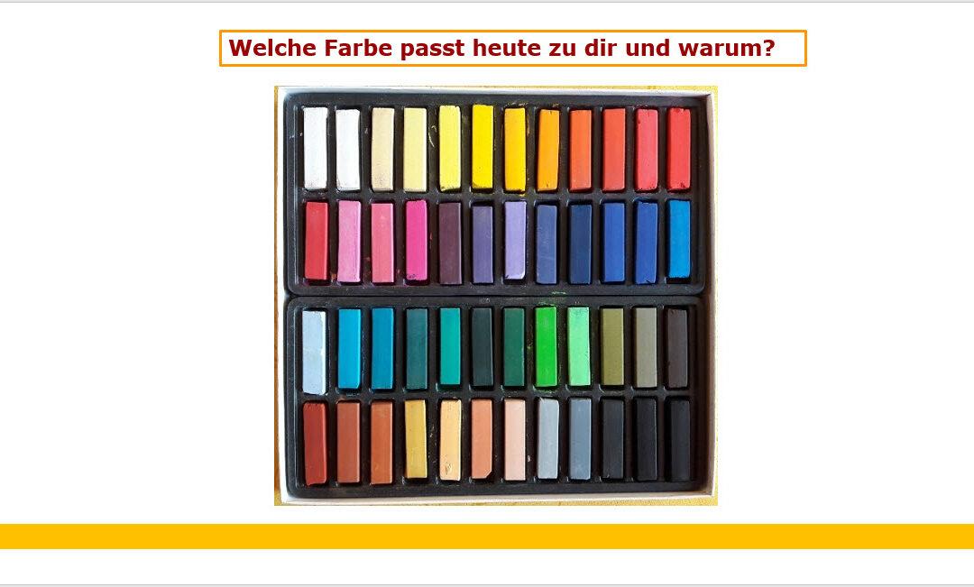Welche Farbe? – Eine Methode zum Seminareinstieg